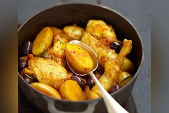 recette pomme de terre paysanne cocotte en fonte